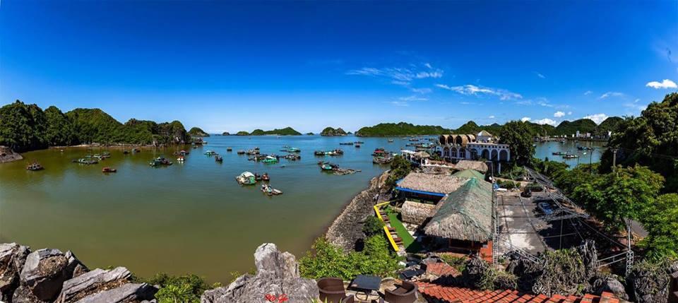 Homestay Cát Bà Hải Phòng có vị trí cực đẹp để ngắm cảnh