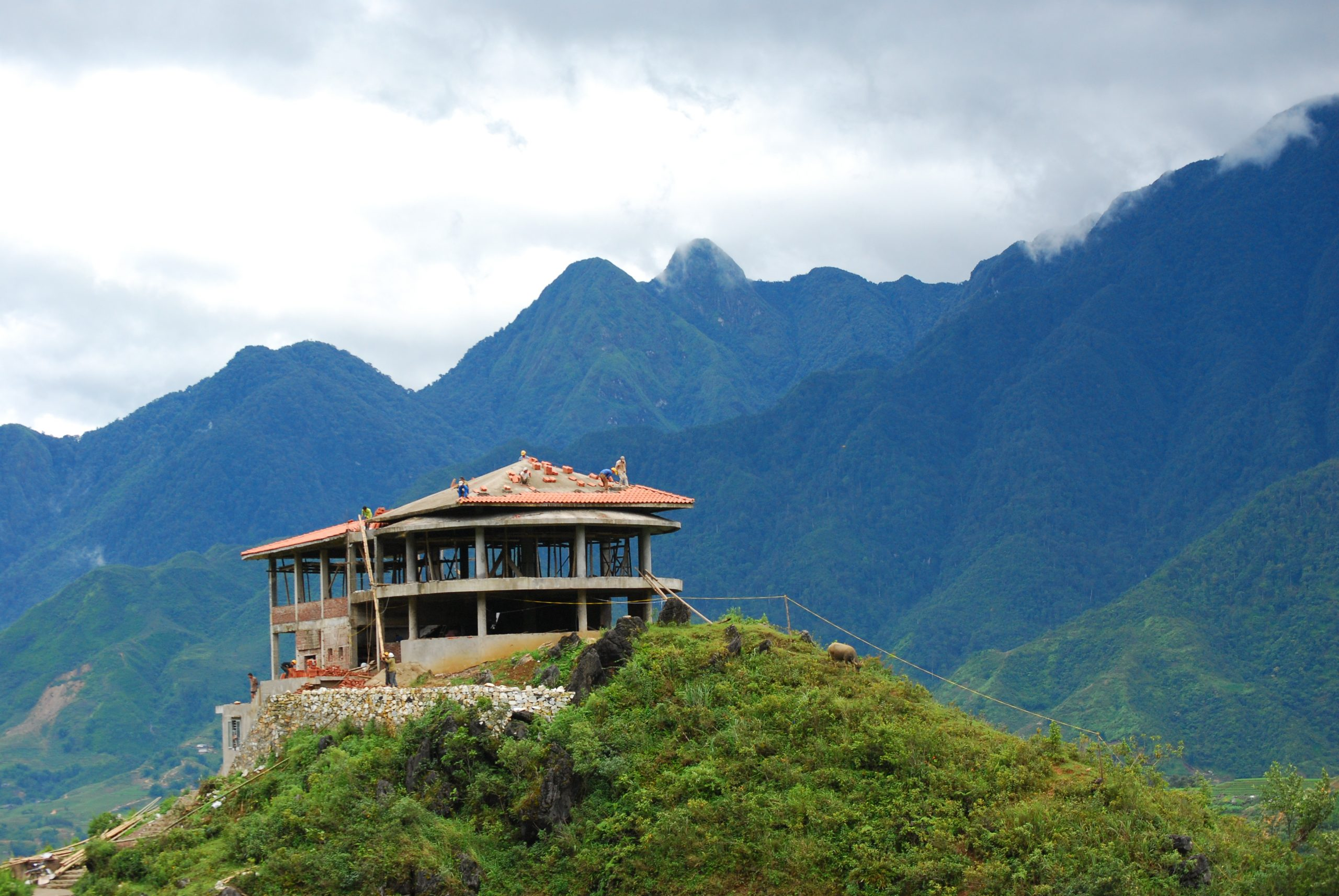 An An Sapa Mountain Air có các phòng đơn độc đáo